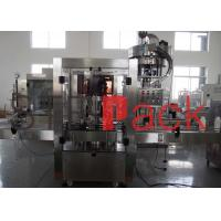 Cheap 3 Phase Rotary Cap Filling Machine For Food And Packaging Processing Industry for sale