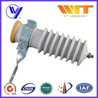 51KV Power Station Porcelain Substation Surge Lightning Arrester High Reliability Manufactures
