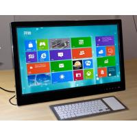 Black Touchscreen Panel PC High Resolution Finger Touch For School / Hospital Manufactures
