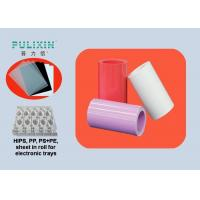 High Strength 2mm Thick Printing HIPS Polystyrene Plastic Sheet , Food Grade Manufactures