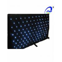 Twinkling Stars Effects Stage LED Curtain Lights 120W Sound-Activated 7 DMX Channel Manufactures