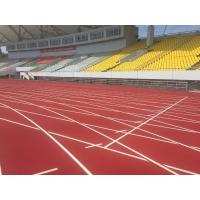 Environment Friendly Rubber Running Track Surface Fireproof Colorful EPDM Pallets