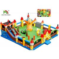 Outdoor Giant Inflatable Amusement Park Colorful PVC Tarpaulin Combo Playground Manufactures