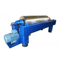 Industrial Horizontal Continuous Decanter Separator - Centrifuge For Wastewater Treatment Manufactures
