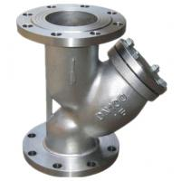 Custom Industrial Strainer / Stainless Steel Y Strainer Stable Performance Manufactures