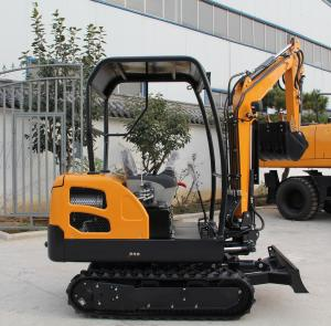 China Cheap small excavation machine mini excavators with variable track gauge on sale