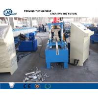 High Precision Shutter Door Roll Forming Machine With PLC System for Aluminum Steel Sheet