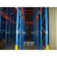 Q235 / 345 Warehouse Storage Drive In Pallet Racking Drive Through Racks For Cold Room Manufactures
