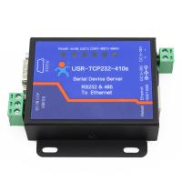 USR-TCP232-410S Serial to Etherent /TCP IP Converter RS232 RS485 Interface with DHCP and DNS Manufactures