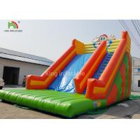 Quality Rabbit Shape Inflatable Water Slide With Logo Printed Outside Entertainment for sale