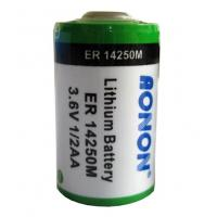 China ER14250 ER14250M Lithium Thionyl Chloride Battery CE&UL offered on sale