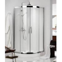 Round Circular Transparent Shower Door Glass Tempered Curved Manufactures