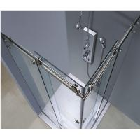 Self Cleaning Shower Door Glass Clear Float Tempered Glass Easy Cleaning Manufactures