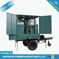 Double Stages Vacuum Transformer Oil Testing Equipment Transformer Oil Purifier Manufactures