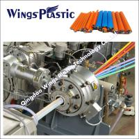 Micro Duct PE Silicone Core Pipe Production Line / Making Machine / Extruder Line Manufactures