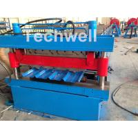 Roof / Wall Panel Double Deck Roll Forming Machine , Double Layer Roll Former Manufactures