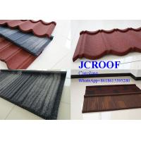 Decorative colorful Stone Coated Steel Shingles roof tile / shingle roofing tile