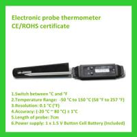 China Cooking barbecue electronic probe thermomet on sale