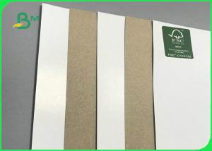 140 - 200gsm One Side Coated Kraft Board For Boxes Making Manufactures
