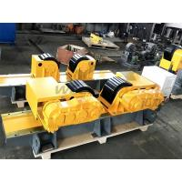 Carry 30 Ton Tank Turning Rolls Heavy Duty Rotator For Pipes And Tanks Manufactures