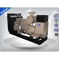 Electronic Speed Governor 50Hz Open Cummins diesel Generator Set With Water Cooling System