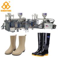 Rain / Water Boot / Gumboot/ mineral worker boot Dual Injection Molding Machine Rotary Type Manufactures