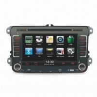 GPS Car Navigation System for Volkswagen/Seat, with In-dash DVD Player, Supports Bluetooth Function Manufactures