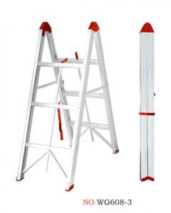 Non Insulated 2x3 150kg 6063A Aluminium Folding Ladder Manufactures