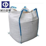 Sand 1 Ton - 1.5 Ton FIBC Bulk Bags Top Open Bottom Flat White Color Manufactures