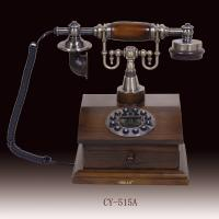 China classic telephone, antique telephone,elegant and useful telephone,white color wooden telephone(CY-515) on sale
