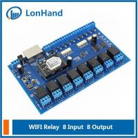 Quality [USR-IO88] Wifi Network Relay with 8 Inputs and 8 Outputs,Remote Control Switch for sale
