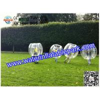 Amusement Activity Inflatable Bumper Ball , Body Bumper Ball Adults and Kids Manufactures