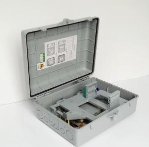 Pole Mounted Plastic Optical Distribution Box 1x16 , 340*265*120mm