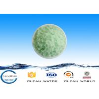 China High purity chemical ferrous sulfate blue green crystals for producing disinfectant on sale