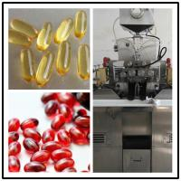 Cheap S403 Soft Gelatin Encapsulation Machine With Gelatin Melting System For Krill Oil Production for sale