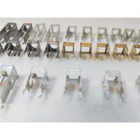 Four Cavities Sheet Metal Bending Dies Remote Control Interface Connector 0.2mm Thickness Manufactures