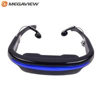 China Remote Control Digital Mobile Movies Video Glasses Eyewear With MP5 Player on sale
