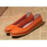 Ladies Flats Soft Comfortable Casual Shoes Flat Shoes Women Natural Leather Manufactures