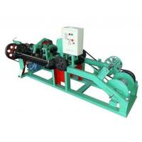 China Automatic Barbed Wire Making Machine , Wire Mesh Welding Machine 2.2KW Motor on sale