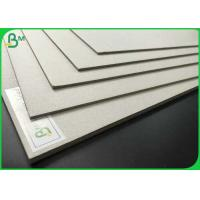 High Density 700 x 1000mm Grey Board 1.35mm 1.5mm Grey Chipboard For Packaging Manufactures