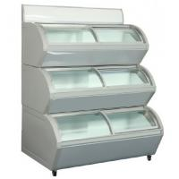 3 Layers Ice Cream Display Refrigerator  With 3 Compressor Below 18 Degree Manufactures