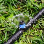 PE Sprinkler Irrigation Pipe Extrusion Machine , Farm Irrigation Drip Irrigation Pipe Making Manufactures