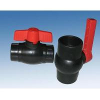 PVC Threaded Floating Ball Valve With Polyvinyl Chloride Body , Seat By Class 150lbs