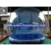 Advertising Large Inflatable Bubble Tent  Outdoor with 2 Tunnels Manufactures