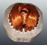 Induction motor stator Winding Coils and wedge embedded in the slots Manufactures