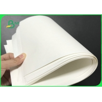 Strong Stretchability 120grams 150grams Natural White Kraft Paper For Carry Bags Manufactures