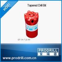 High Quality 7degree 34mm Tapered Drill Bit for Drilling Rocks Manufactures