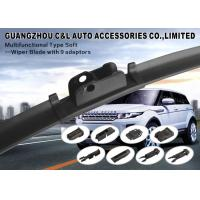 Optional Adapters Windscreen Soft Wiper Blade With 9 Choices For Exclusive Arms Manufactures