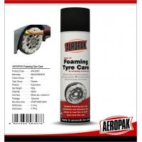 Anti Fading Car Care Products Foaming Wheel And Tire CleanerDissolves Dirt / Oil
