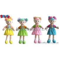 Lovely Fashion Plush Stuffed Girl Doll Toy With Dress Manufactures